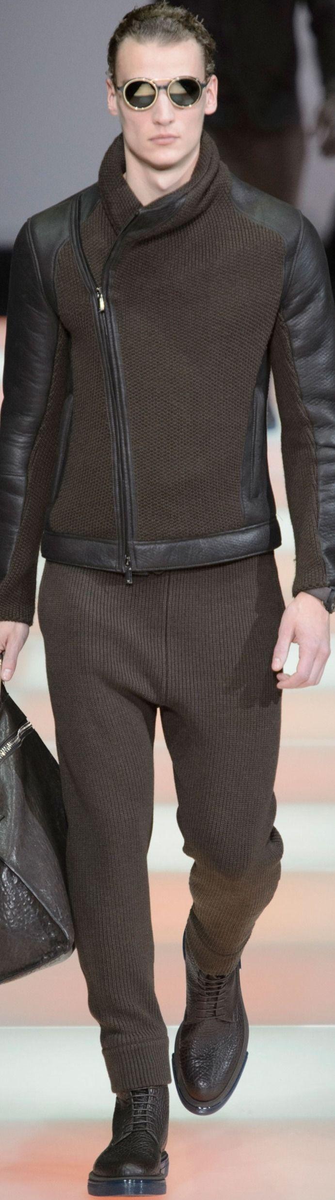 Emporio Armani    Menswear   Fall-Winter