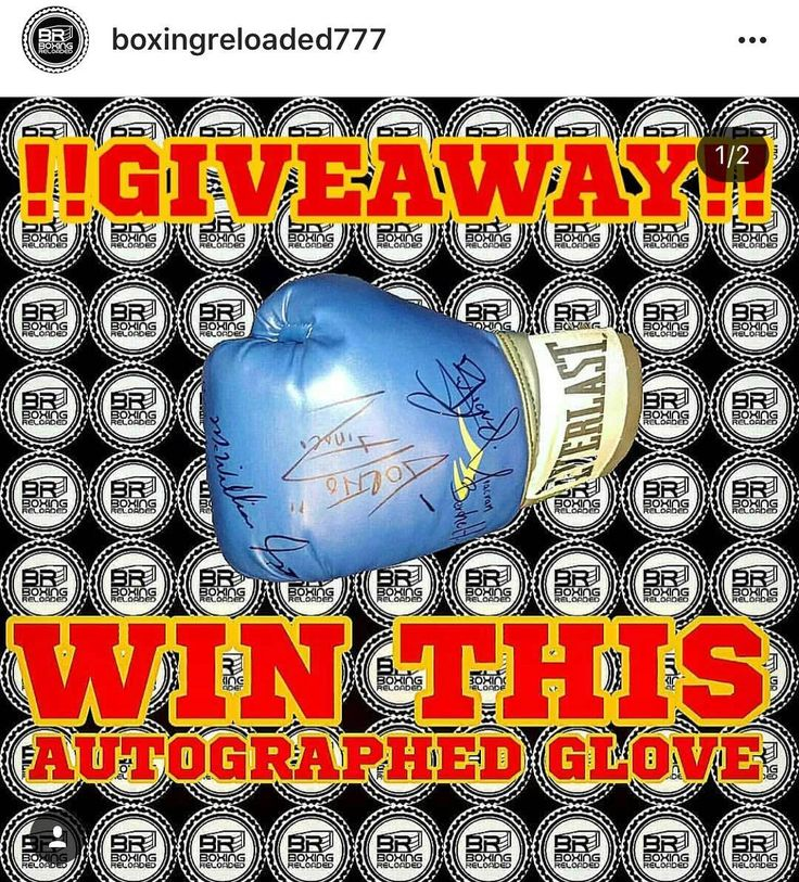 Go Follow And Repost  #Repost @boxingreloaded777  !!!!!!!!GIVEAWAY!!!!!!!!!  Want To Win This Autographed Glove Signed By (Miguel Alacran BercheltJuan Francisco Gallo EstradaSor Srisaket RungvisaiMcWilliams ArroyoMario Torito Tinoco?! Heres How You Start   1. MUST BE FOLLOWING : @boxingreloaded777  2. REPOST THIS POST AND TAG : @boxingreloaded777  3. LIKECOMMENTTAG  Winner Will Also Receive A BoxingReloaded T-Shirt!!  We Will Choose 1 Lucky Winner Saturday Night Before The Fights At The…