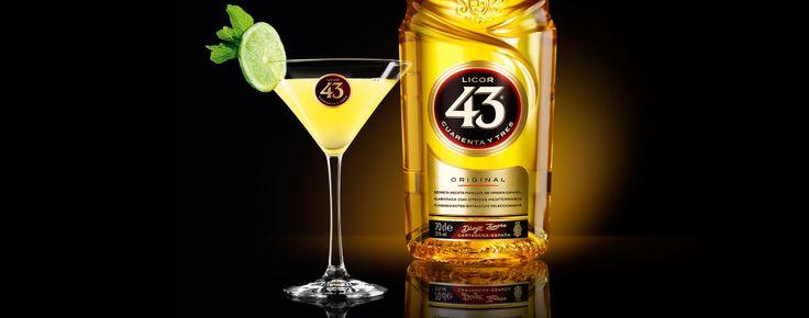 Zelfs de beroemdste cocktails kunnen hun voordeel nog doen met een scheutje Licor 43. Onze versie voegt wat Spaanse passie toe aan het traditionele Margarita recept.
