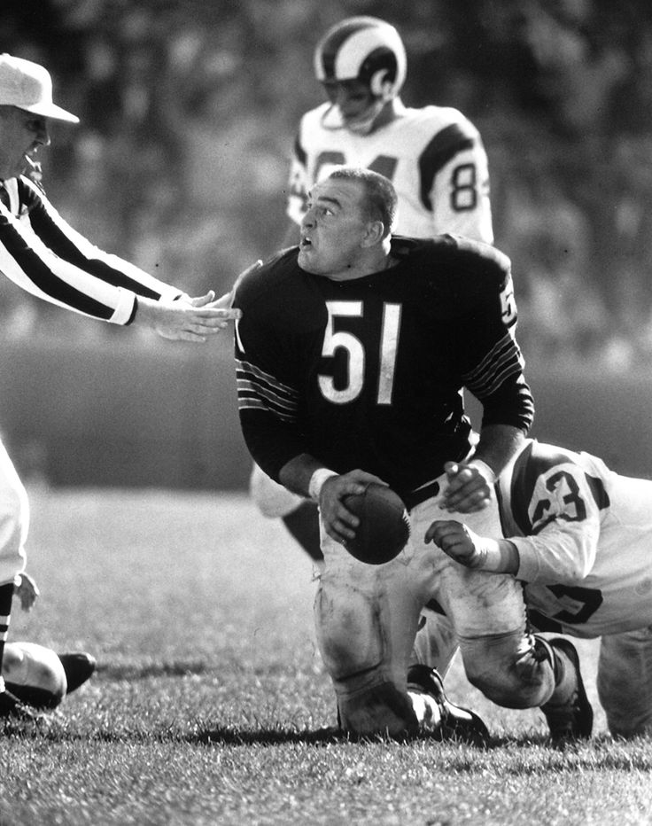 Dick Butkus In 1965 The Baddest Rookie The Nfl Has Ever -2553