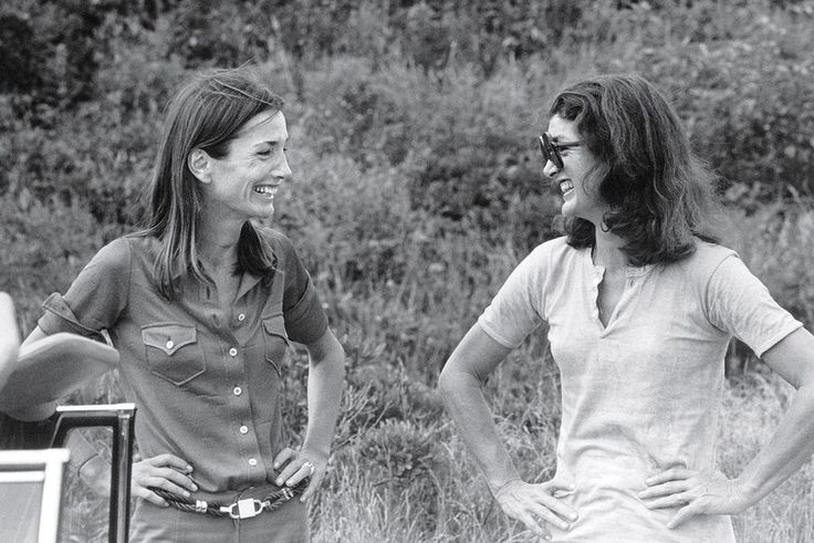 Lee and Jackie, photographed by Peter Beard in Montauk, New York, 1972.