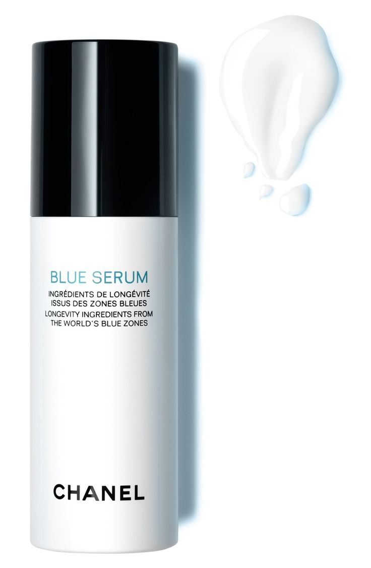 Chanel Blue Serum Longevity Ingredients From The World's Blue Zones - new for spring 2017