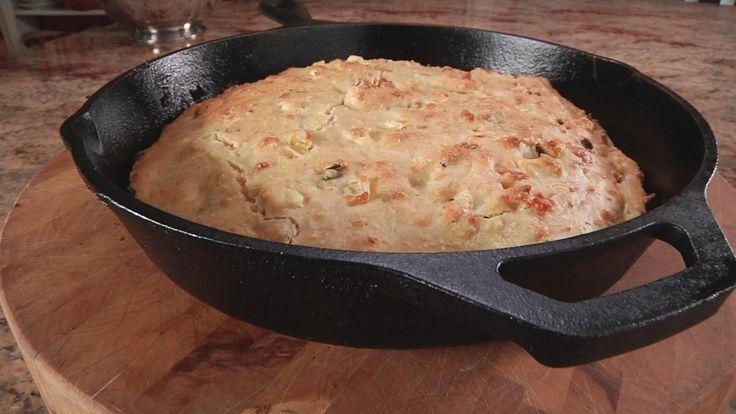 Bacon jalapeño cornbread   Savory...   Pinterest