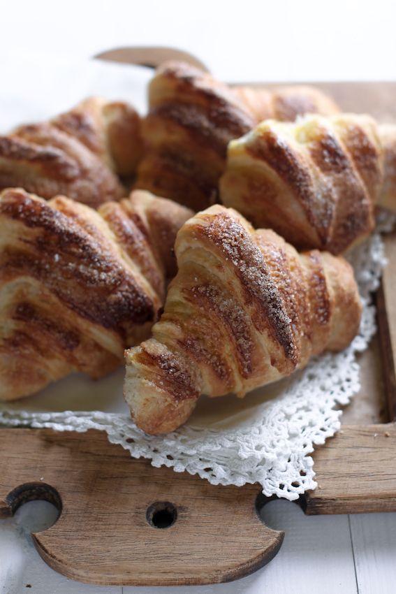 croissant facile, 20 minuti, spiegazioni, giri, brioches, francese, burro