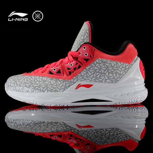 Li-Ning Men Way Of Wade 4 Basketball Shoes Bounse Technology Cushioning Breathable Sneakers Sport Shoes ABAK033 XYP315