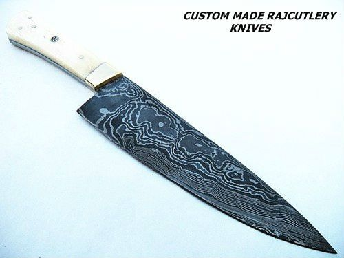 custom damascus handmade hunting chef knives buy handmade pakistani knives teflon coated. Black Bedroom Furniture Sets. Home Design Ideas