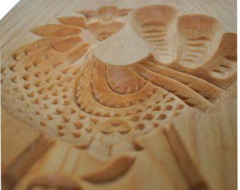 COCKEREL. Wooden presses mold for pressed spice-cake, cookies, springerle cookies, pryaniks. Пряничная доска для печатного пряника ПЕТУШОК. - Edit Listing - Etsy