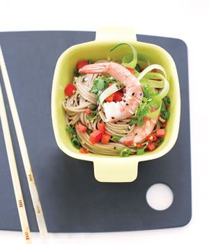 Soba Noodle Shrimp Salad