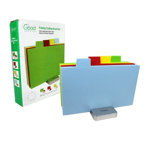 Cutting Board Set- Index Folding Colored Coded Chopping Board Set by Good Cooking (Rectangular) Good Cooking http://www.amazon.com/dp/B00GR2FIIO/ref=cm_sw_r_pi_dp_AQi1tb0YV6TNEQPS