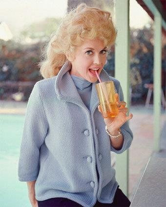 Donna Douglas, who played Elly May Clampett on the TV show The Beverly Hillbillies.