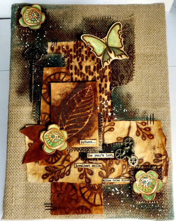 PaperArtsy EAB04 Autumn Edition by Sue Carrington for PaperArtsy
