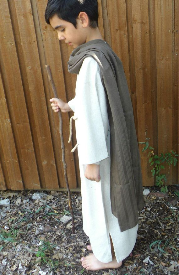 Childrenu0027s Bible Costume Brown Scarf Apostles by CreationsBySena  sc 1 st  Pinterest & 61 best Family - Sam costume images on Pinterest | Christmas ...