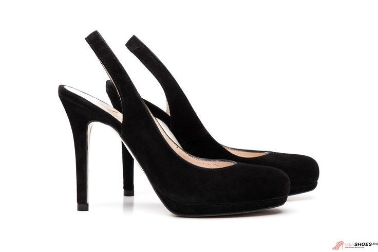 Pantofi Stiletto Decupati Marian - Negri - 11.5cm
