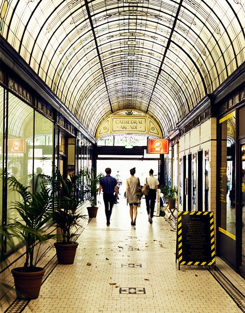 The Cathedral Arcade, Melbourne