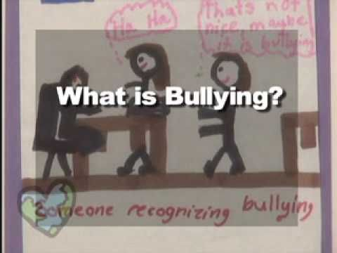 This brief video touches on different types of bullying and the key elements that define bullying. Together, families and schools can prevent children from becoming victims or instigators of aggressive behavior.