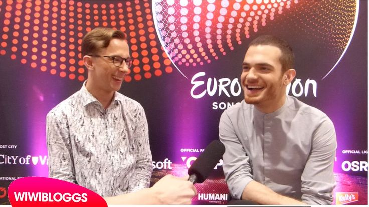 Interview: Elnur Huseynov (Azerbaijan) @ Eurovision 2015 first rehearsal...
