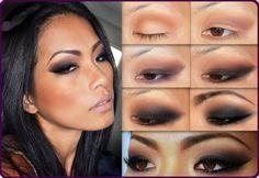 maquiagem olhos pequenos