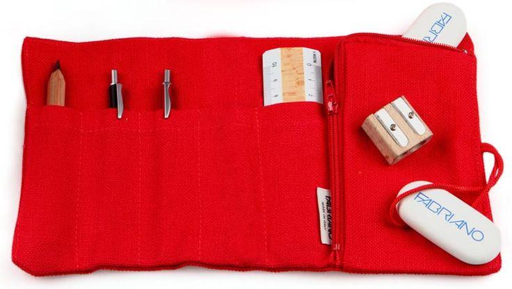 Linen Mini Case - Fabriano Boutique
