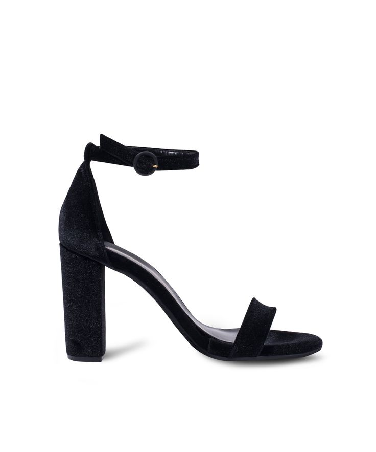 SANTE classic and simple style sandal! Black
