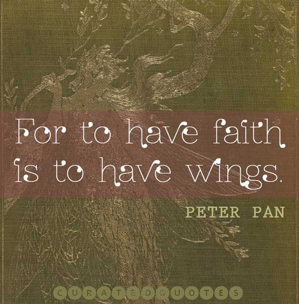 Nothing could ever quite describe what the story of Peter Pan means to me... <3
