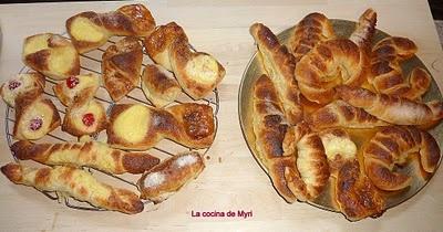 Facturas de manteca argentinas. receta