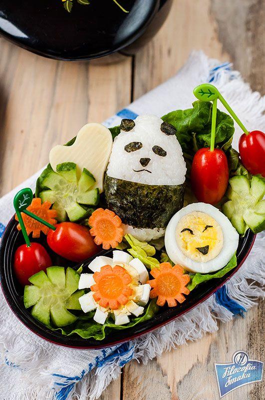 Cute Panda Bento