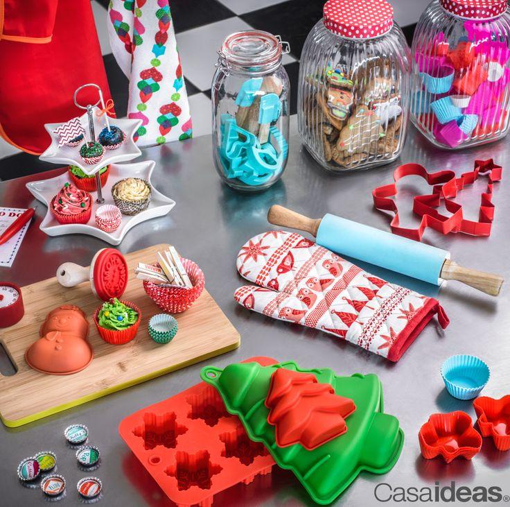 Cada detalle para esta Navidad, lo podrás encontrar en CasaIdeas. Regala tu propia Navidad #Decoración #Mesa #Hogar #Familia