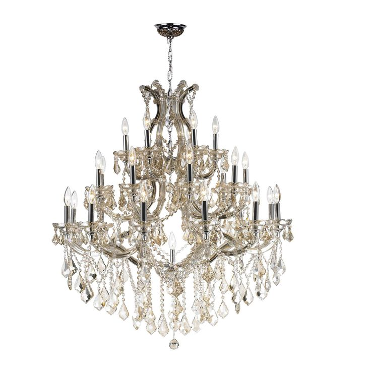 Maria Theresa 28-Light Crystal Chandelier