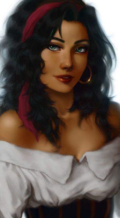 Esmeralda by ~AilishOctigan on deviantART