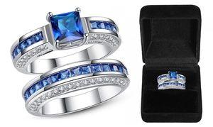 2,5-karaat Blauw Saffieren Ringen