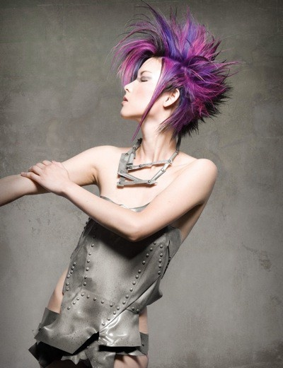 top hair styles 2866 best images about funky layered shag 8523