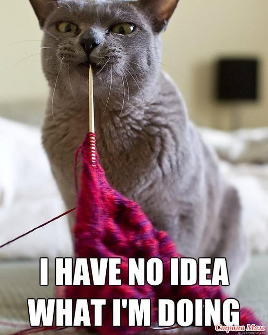 Арты о вязании. Часть 6. Юмор.