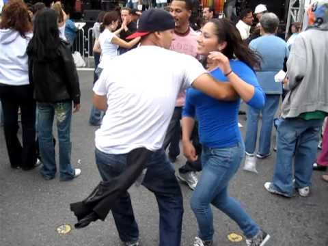 """Street Style Salsa at the San Fran Carnival 2009. """"Baila que baila"""" by Avance... I love Salsa dancing the best  music and dance style EVER. this band playing is my daughters friends Dads band. They are amazing!!!! go Avance"""