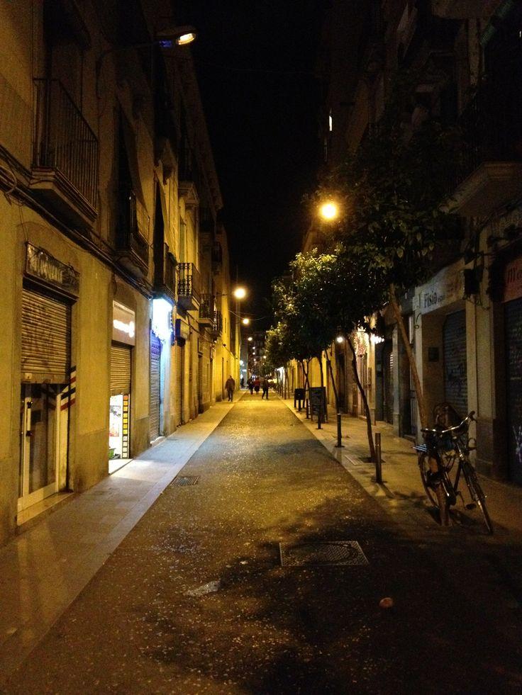 Barcelona, winter 2012