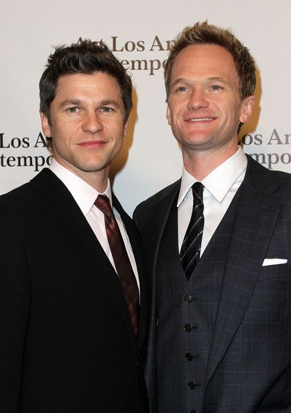 Actor Neil Patrick Harris (R) and David Burtka (L) arrive at Art Los Angeles Contemporary Opening Night Reception on January 27, 2011 in Santa Monica, California. - See more: http://www.zimbio.com/photos/Neil+Patrick+Harris/Art+Los+Angeles+Contemporary+Opening+Night/VqeQpZeXns7