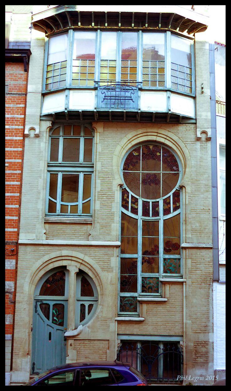 Architecture in Brussels Ernest Delune Annexe de