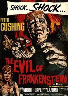 The Evil of Frankenstein (1964) ... *Universal Hammer Horror*