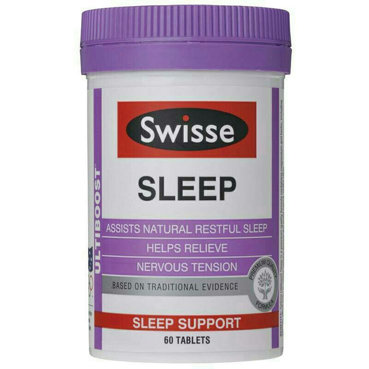 Swisse Ultiboost Sleep contains premium quality ingredients shown to help minimise sleep challenges.