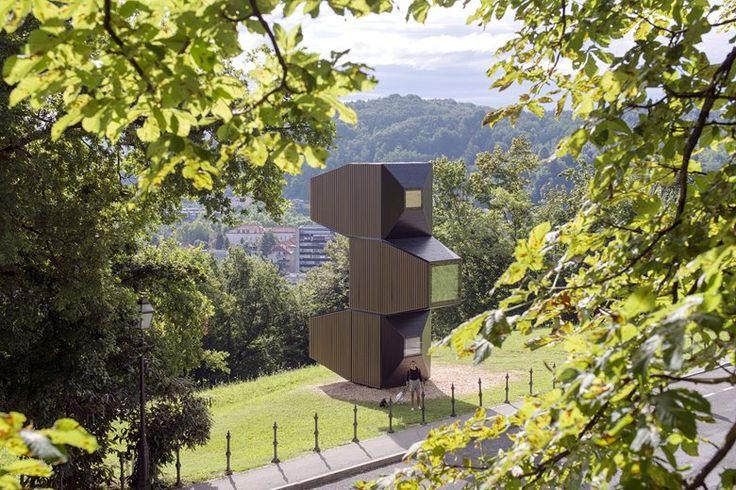 LIVING UNIT ON LJUBLJANA CASTLE, Ljubljana, 2017 - OFIS Arhitekti
