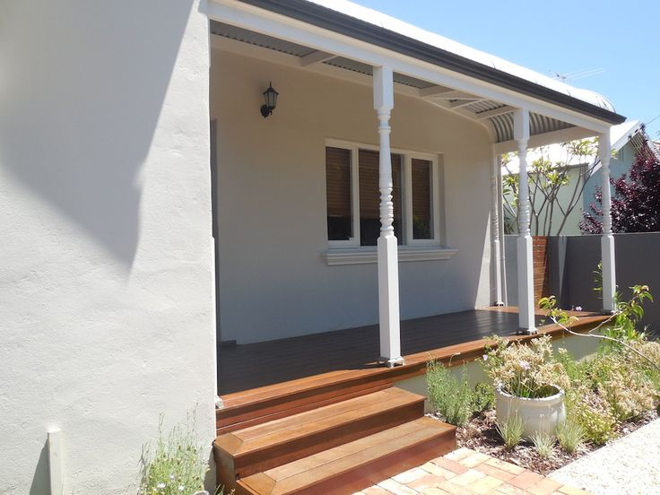 Bull nose veranda and timber decking by Castlegate Home Improvements Perth