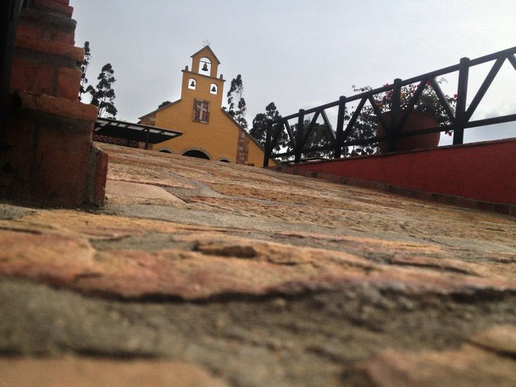 Parque Nacional del Chicamocha Iglesia con estilo Colonial at Colombia by Jongmin Park on 500px