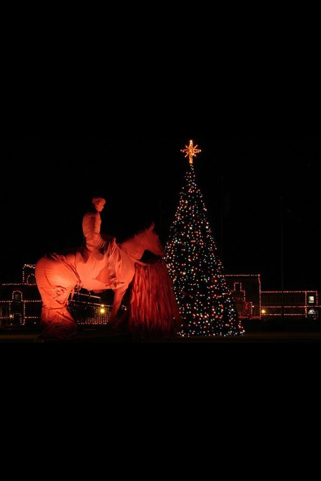 Christmas time at Texas Tech