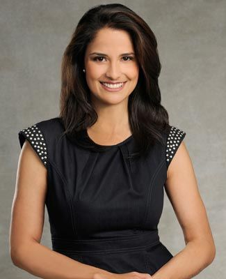 """""""While I still feel I am delivering true news and I am still a true professional, it's just so wonderful to be able to let loose. That is my personality,"""" says """"World News Now's"""" Diana Perez."""