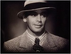 Paul Muni in the trailer for Scarface. The public's fascination with gangster films in the early 1930s was bolstered by the constant newsree...