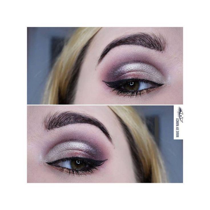 Shine bright 💎 #makeup #mua #makeupartist #makeuplove #makeupfreak #makeupwork #makeupworld #instamakeup #makeupmood #eyemakeup #eyesmakeup #cutcrease #glam #glamorous #glamour #beauty #beautiful #wieczorowy #makijaz #wizaz #makebynancy #like #likeit #fun #followme