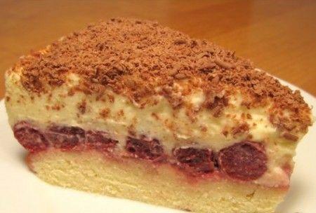 Вишневый пирог наслаждение с буко