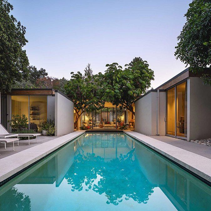 Midcentury Pasadena Estate By Thornton Ladd And John Kelsey Built In 1962 Photography By Lance Gerber See House Raffle Dream House Exterior Mid Century House