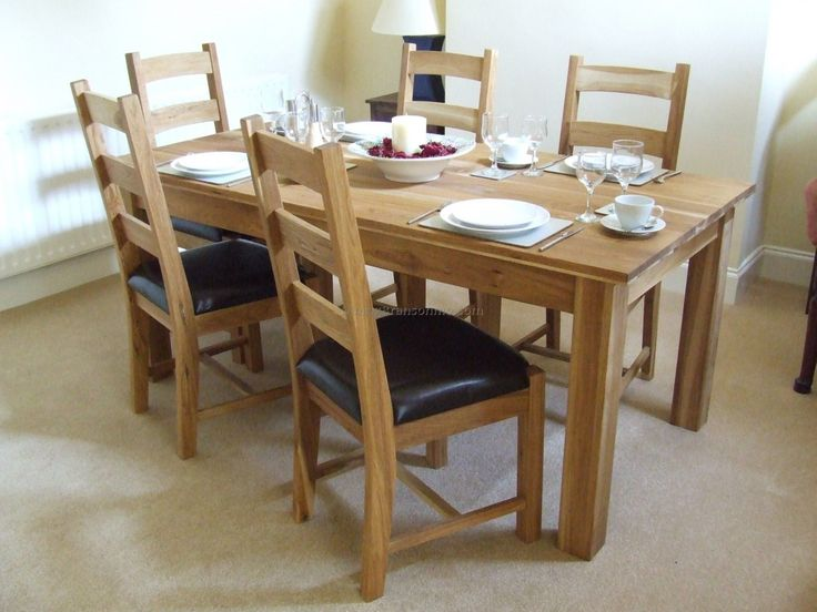 Oak Dining Room Sets - top Rated Interior Paint Check more at http://1pureedm.com/oak-dining-room-sets/