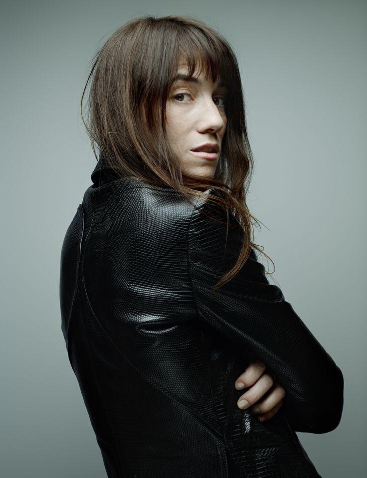 Denis Rouvre . Portraits . Charlotte Gainsbourg