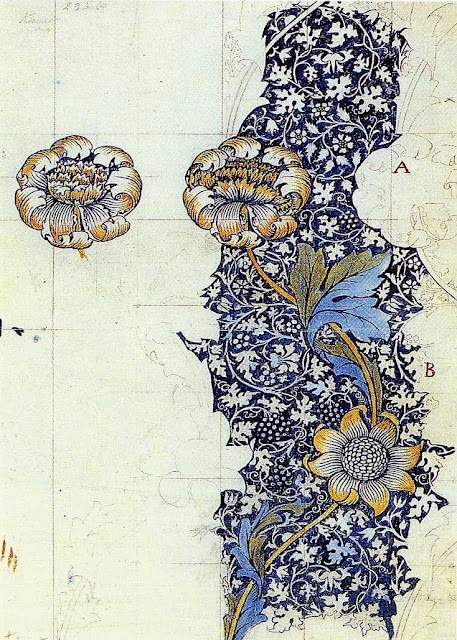 William Morris illustration.  Nearly 130 years later, he still inspires.